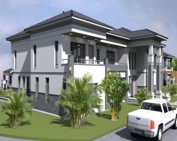 PROPOSED LUXURIOUS  SIX BEDROOM HOUSE