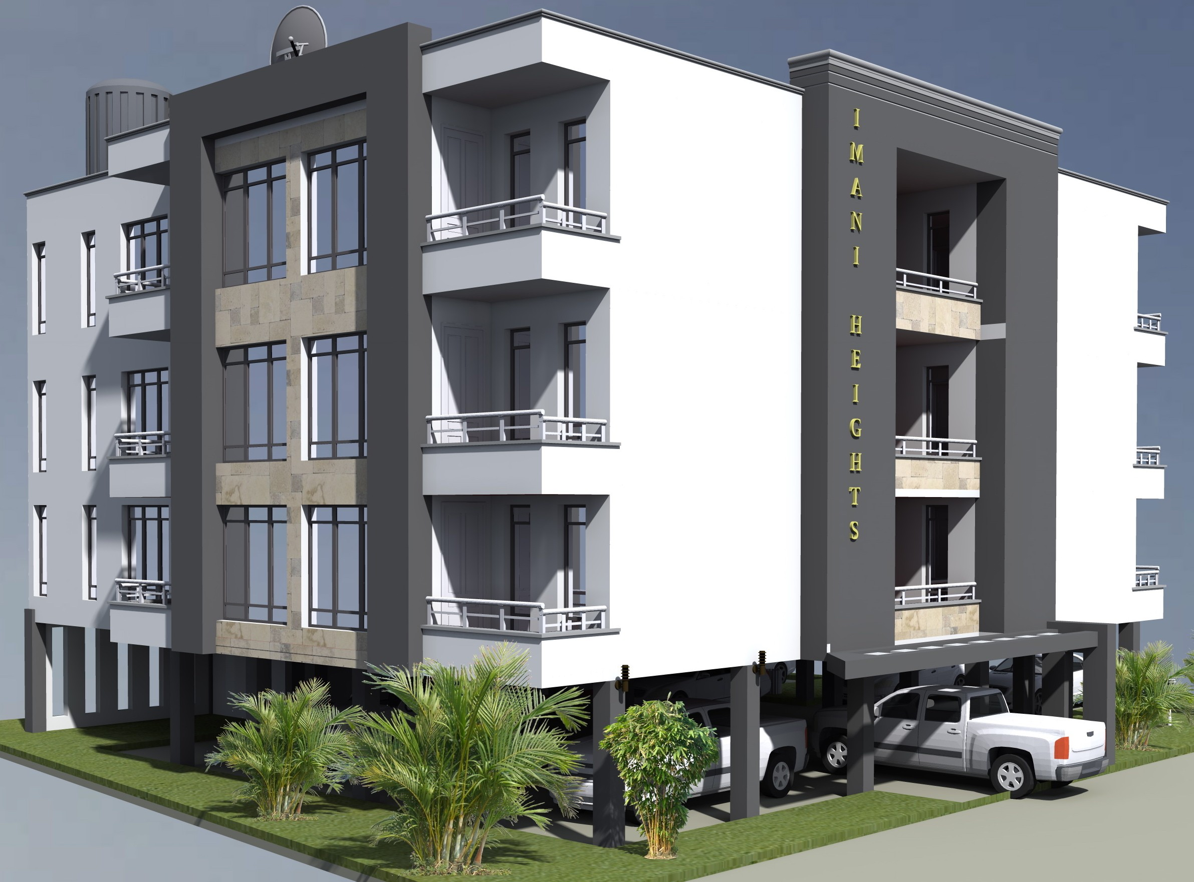 PROPOSED SERVICED APARTMENT