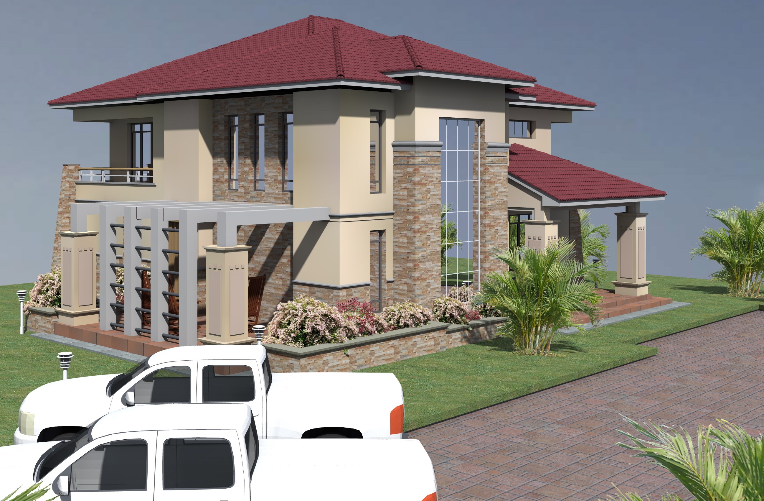 PROPOSED FOUR BEDROOM MAISONETTE