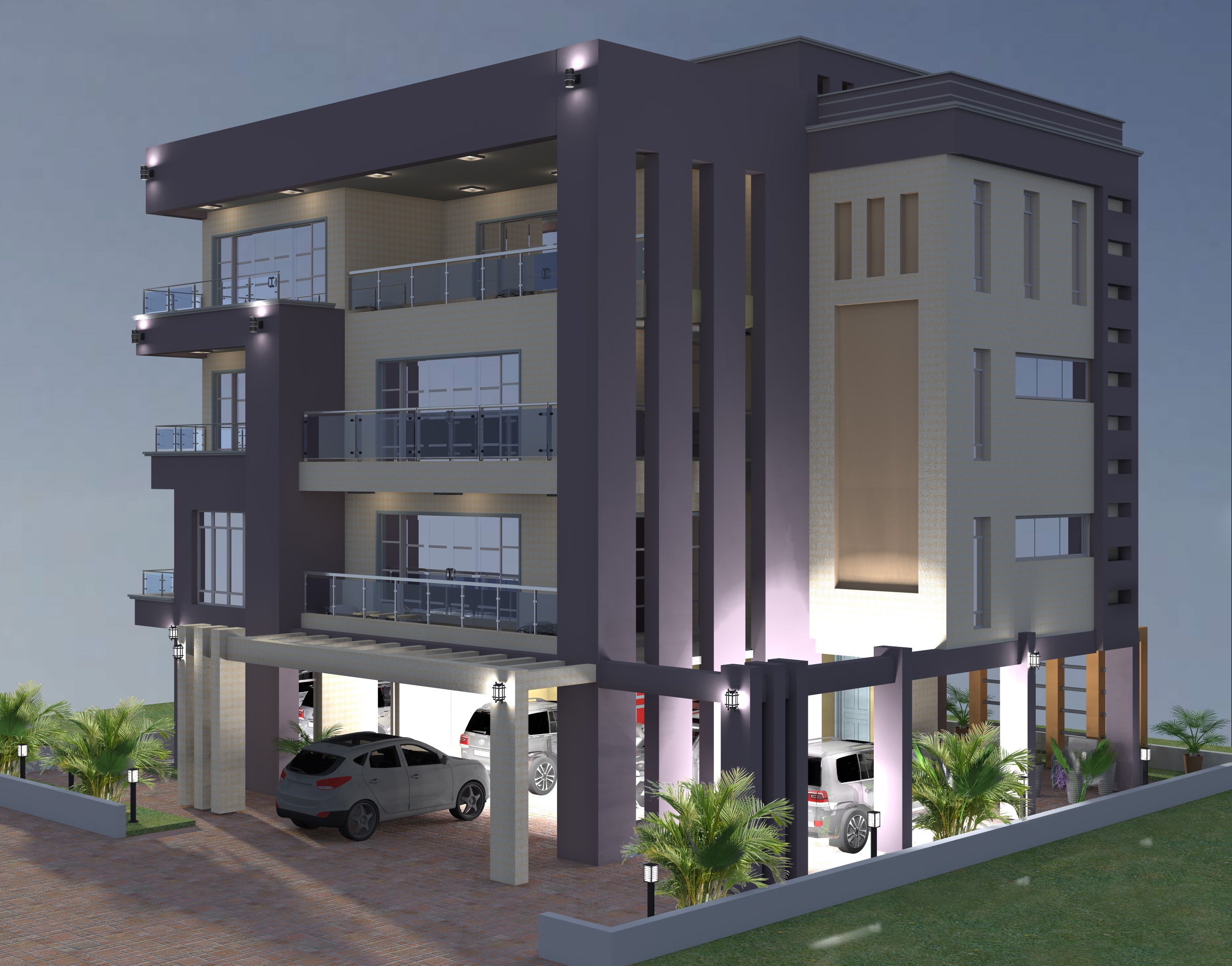 PROPOSED LUXURIOUS  SIX MAISONETTE