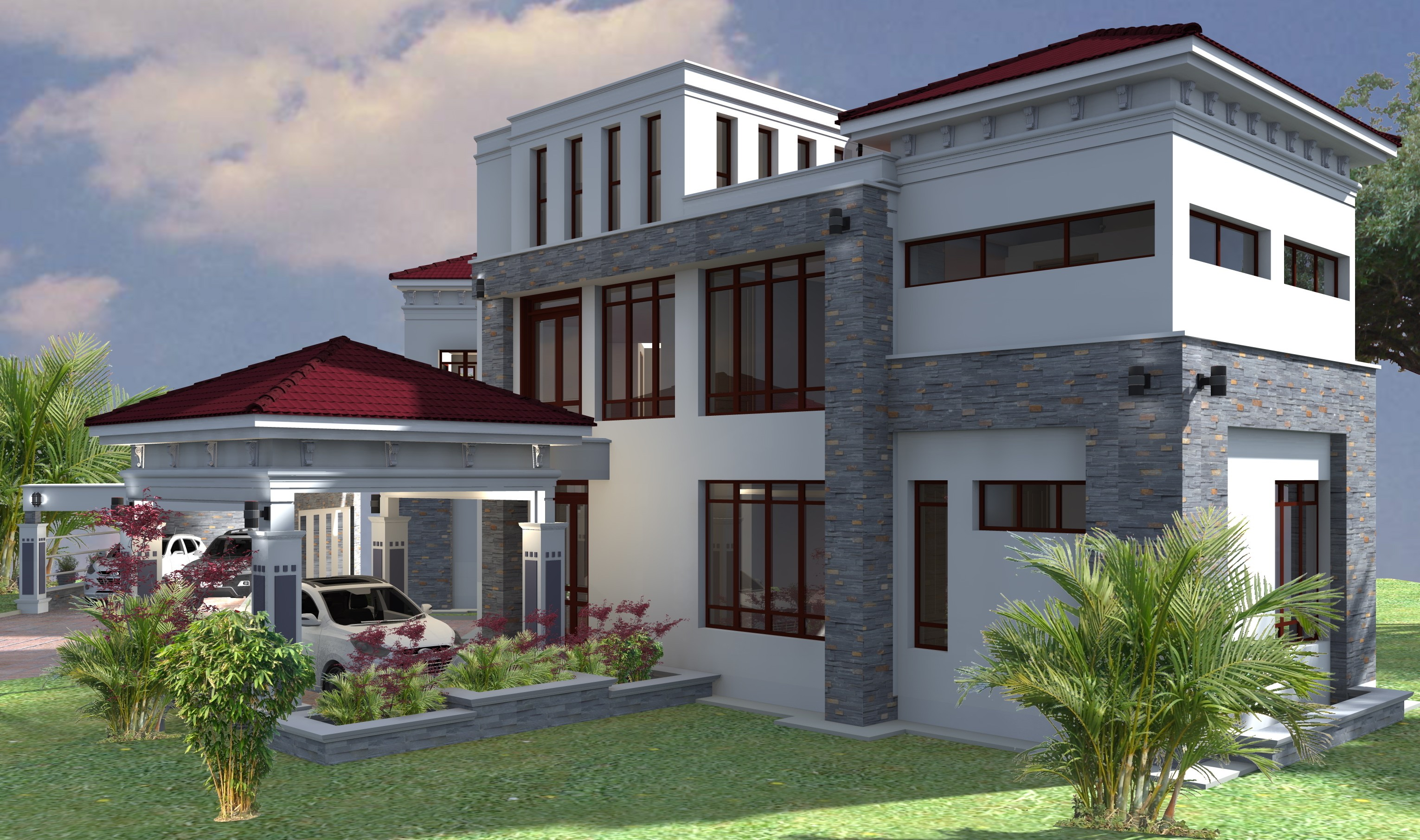 PROPOSED RESIDENTIAL HOUSE IN JEBEL SOUTH SUDAN