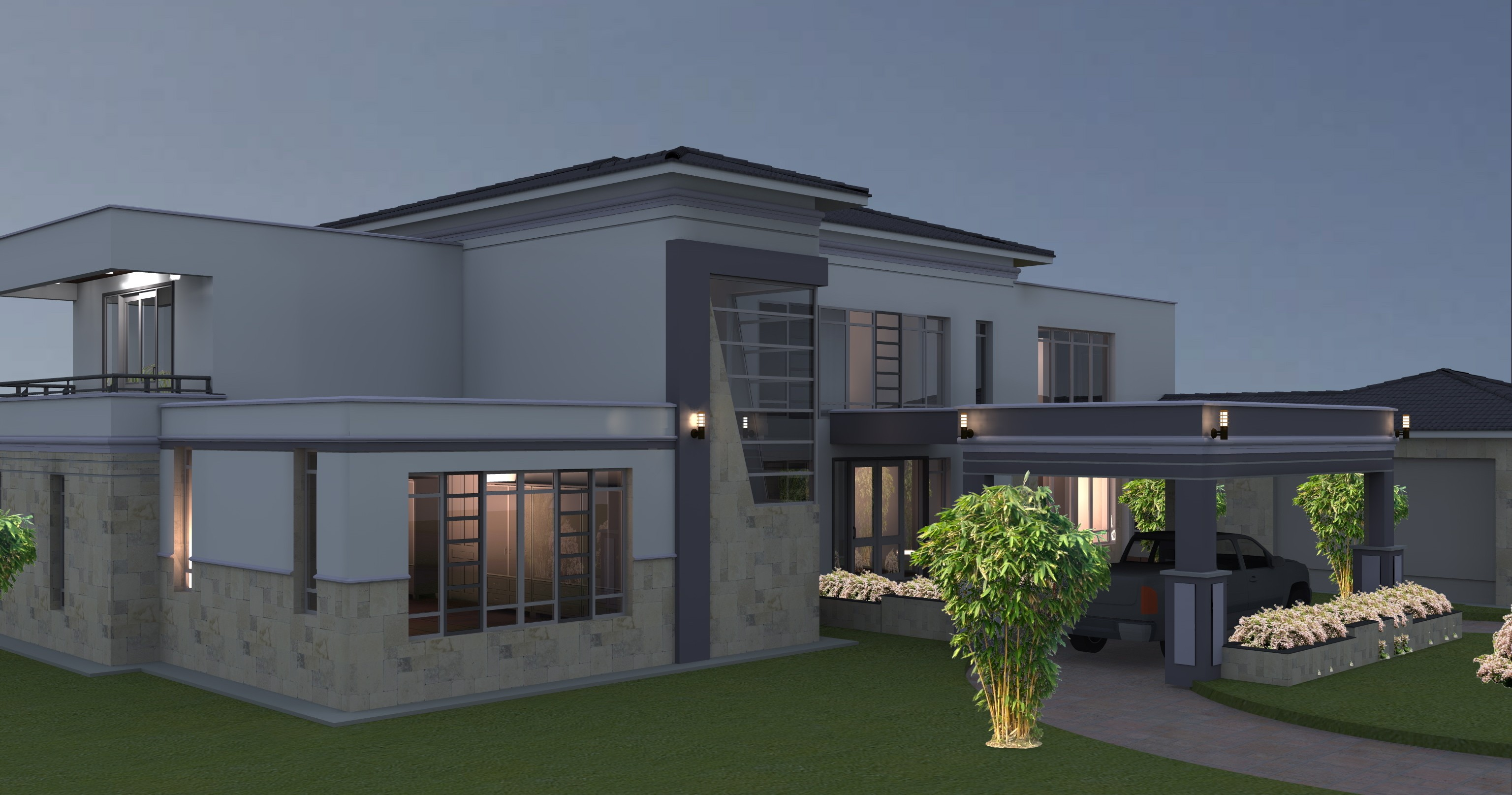 PROPOSED FIVE BEDROOM HOUSE