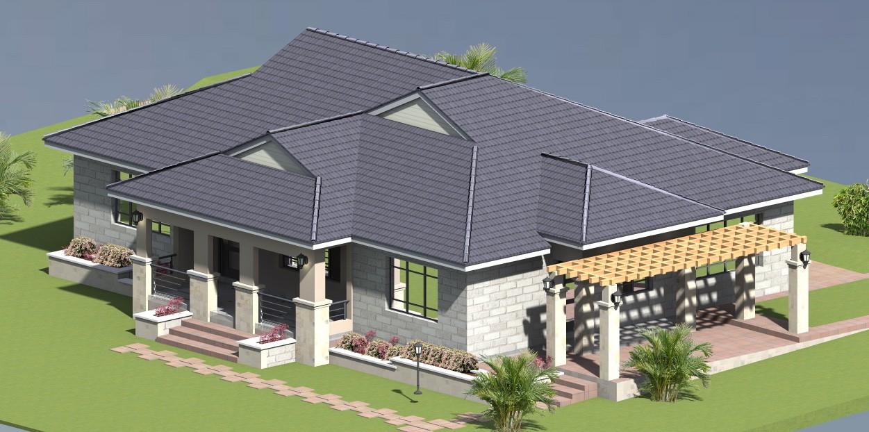 PROPOSED THREE BEDROOM HOUSE